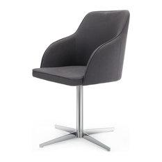 Lieblich Made.com   Keira Drehstuhl, Bleigrau Grau   Bürostühle