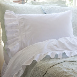 Traditional Pillowcases And Shams by Taylor Linens
