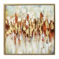 """Slow Dance"" Framed Canvas Art, 39""x39"""