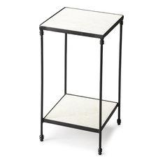 Butler Larkin Marble & Iron Accent Table