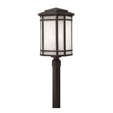 Hinkley Lighting - Hinkley Lighting 1271VK-LED, Cherry Creek Outdoor Post Light, Vintage Black - Pos