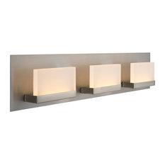 "Kira Home Everett 24"" 19W Integrated LED Bathroom / Light, Rectangular Acrylic"