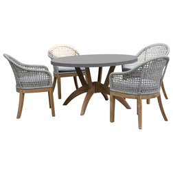 Tropical Outdoor Dining Sets by Outdoor Interiors