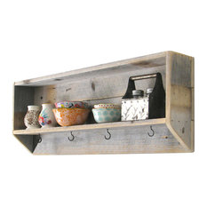 ... and Cristy Designs - Isolde Wood Wall Shelf - Display And Wall Shelves
