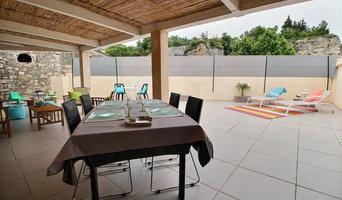 Aménagement d'une terrasse d'un appartement et d'une chambre