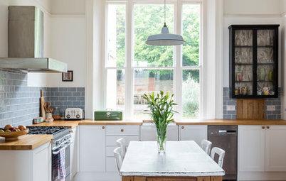 Von mau zu wow: 3 weiße Küchen im Vorher-Nachher-Vergleich