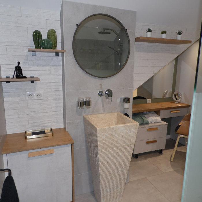 LE STYLE SCANDINAVE : Cuisine, Salle de bain, Rangement