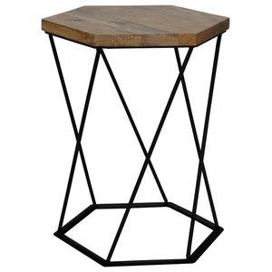 Ravi Hexagon Side Table