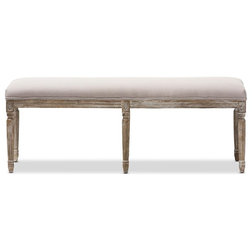Farmhouse Upholstered Benches by HedgeApple