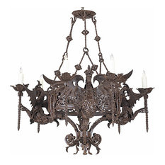 Theoden Wrought Iron Chandelier