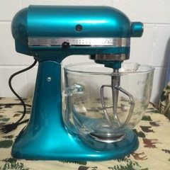 Kitchenaid Mixer Sea Glass Or Azure Blue