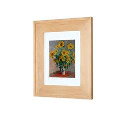 "Concealed Picture Frame Medicine Cabinet, Unfinished Raised, 13 1/8""x16"""