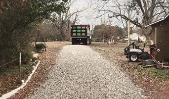 Gravel Driveway Truck Spread