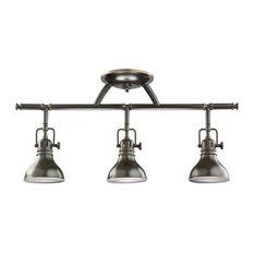 Rail Light 3-Light Halogen, Olde Bronze