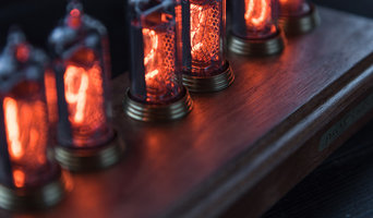 Vostok-2 Black Nixie Clock