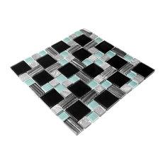 Rectangular Lattice - 3-Dimensional Mosaic Decorative Wall Tile(2PC)