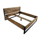 Verdon Solid Wooden Bed, UK Emperor