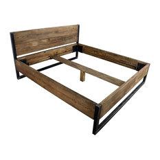 Verdon Solid Wooden Bed, UK Emperor