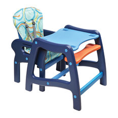 Badger Basket Co.   Badger Basket Co. Envee Baby High Chair With Playtable  Conversion