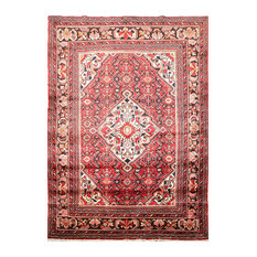 """Rust Ivory Color Persian Rug, 5'3""""x7'"""