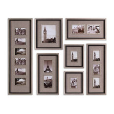 Massena Photo Frame Collage, Set of 7, Natural