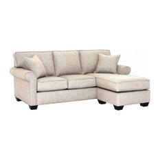 Apt2B   Lafayette Reversible Chaise Sofa, Straw   Sectional Sofas
