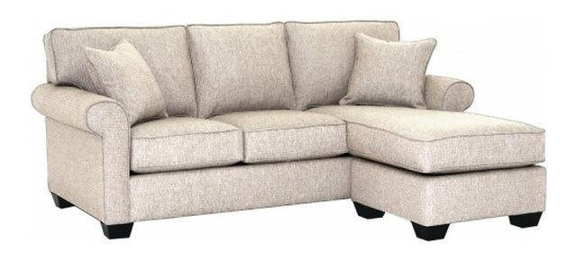 Lafayette Reversible Chaise Sofa Transitional