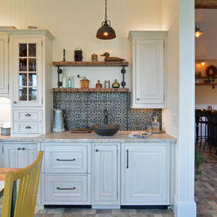 Mobile Bar Shabby Chic.75 Most Popular Mid Sized Shabby Chic Style Home Bar Design Ideas