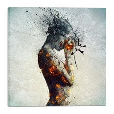 """Deliberation"" by Mario Sanchez Nevado, Giclee Canvas Print, 40""x40"""