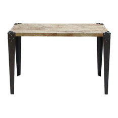 Rehoboth Metal and Wood Console Table