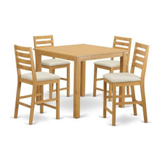 5-Piece Dining Counter Height Set