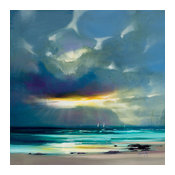 """West Coast Blues II"" Printed Canvas by Scott Naismith, 85x85 Cm"