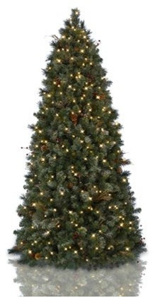 FOLIAGE Traditional Artificial Christmas Trees - Pull Up Christmas Trees