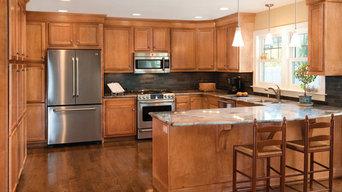 Kitchen Kompact - Bretwood Maple
