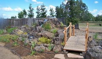 Our Concrete Landscaping Work
