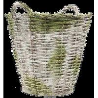 Round Basket Lg 22, Garden Planters