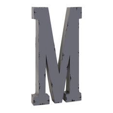 imax worldwide home ella elaine oversized metal letter m wall letters
