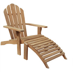 Transitional Adirondack Chairs by Chic Teak