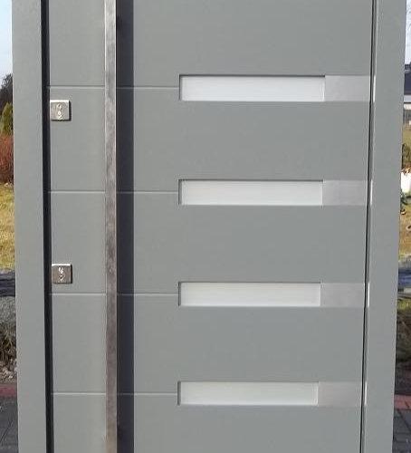 grey front doors for sale. model 014 light grey finish modern exterior door size w 42\ front doors for sale r