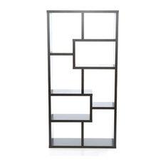 Modern 70-inch High Display Cabinet Bookcase