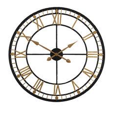 Bronze Round Clock