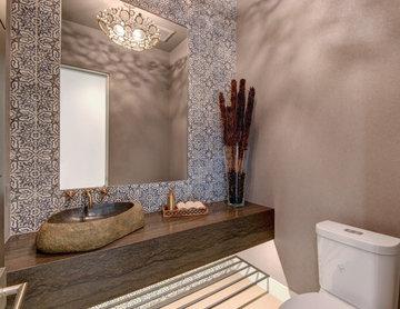 Modern Hacienda-Powder Bath