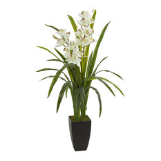 "39"" Cymbidium Orchid Artificial Plant"