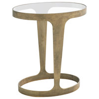 Oslo Accent Table, Gold