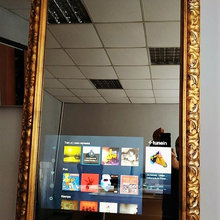 Телевизор зеркало Mirrotech в багете