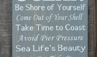 Beach Decor, Gray Color, Rustic Advice From The Ocean Sign