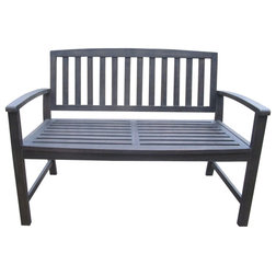 Transitional Outdoor Benches by GDFStudio