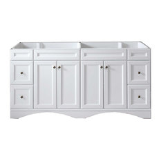 "Talisa 72"" Cabinet Only,White"