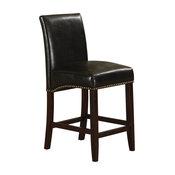 Jakki Counter Chairs, Set of 2, Black