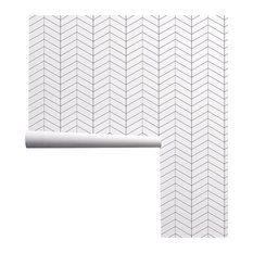 Minimalist Herringbone Wallpaper